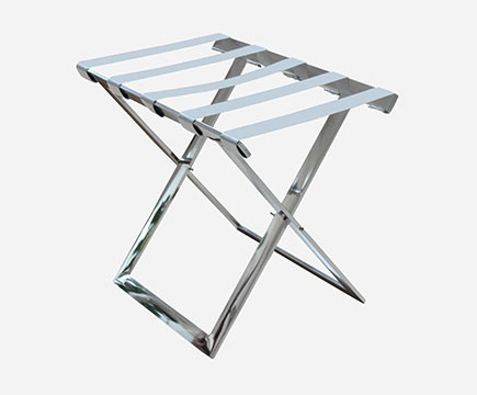 MAX-LR01A Hotels Stainless Steel Folding Strong Metal Baggage Rack/Gepäckablage